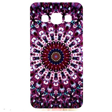 Para Samsung Galaxy Capinhas Case Tampa Estampada Capa Traseira Capinha Flor PUT para Samsung Galaxy A3