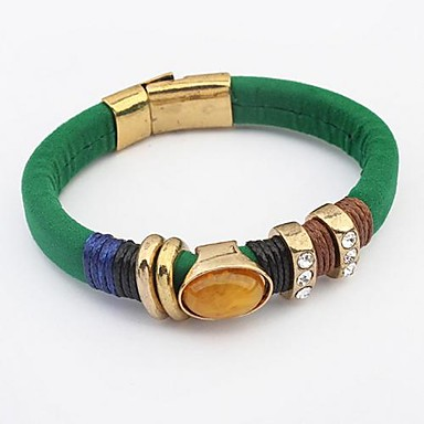 Heren Dames Lederen armbanden Leder Sieraden Voor Bruiloft Feest Dagelijks Causaal 1 stuks