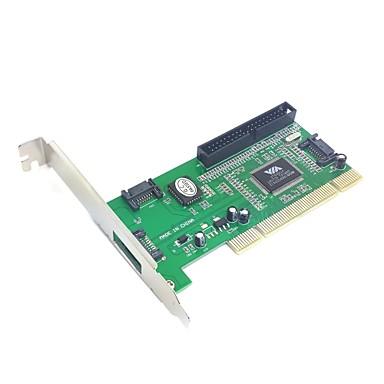 3 SATA θύρα& ide PCI κάρτα ελεγκτή RAID via6421 προσαρμογέα chipset για τον σκληρό δίσκο& διακομιστής