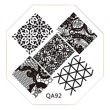 1 - 6x6 - Αφηρημένο Δάχτυλο/Δάκτυλο Ποδιού/Άλλα - από Μέταλλο