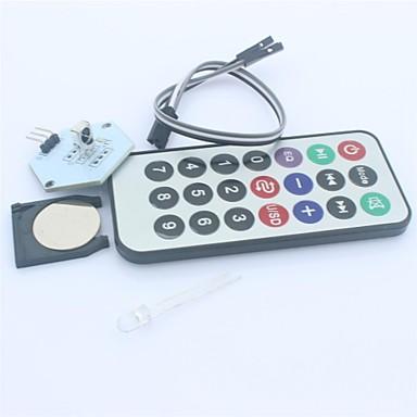 módulo receptor ir kit controle remoto sem fio para arduino (1 x CR2025)