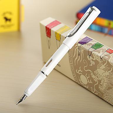 0,38 milímetros de moda branco fonte negócio caneta
