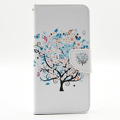 Για Θήκη iPhone 6 / Θήκη iPhone 6 Plus Πορτοφόλι / Θήκη καρτών / με βάση στήριξης / Ανοιγόμενη / Με σχέδια tok Πλήρης κάλυψη tok Δέντρο