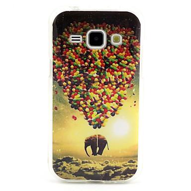 Para Samsung Galaxy Capinhas Case Tampa Estampada Capa Traseira Capinha Balão PUT para Samsung Galaxy J1