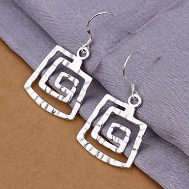 Dames Sterling zilver Druppel oorbellen - Sterling zilver Voor Bruiloft Feest Dagelijks Causaal