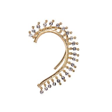 Punhos da orelha Jóias de Luxo Strass imitação de diamante Liga Jóias Para Casamento Festa Diário Casual Esportes 1peça