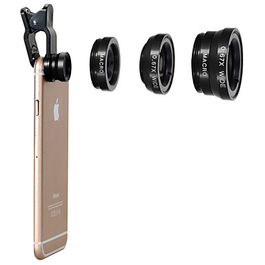 iphone 8 için lens 7 samsung galaxy s8 s7 cep telefonu lens cep telefonu evrensel aksesuarlar