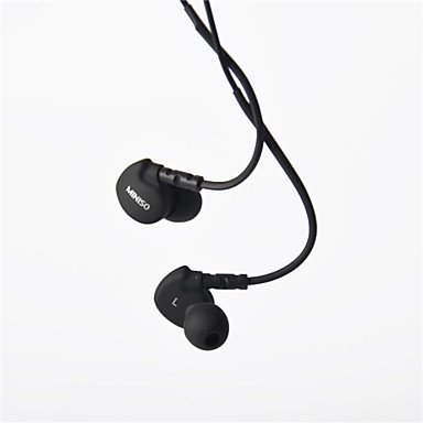 No ouvido Com Fio Fones Plástico Esporte e Fitness Fone de ouvido Com Microfone Fone de ouvido