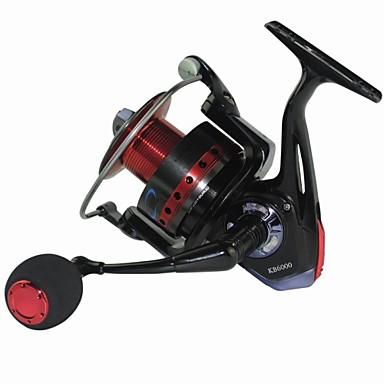 Molinetes de Pesca Molinetes Rotativos 5.2:1 11 Rolamentos TrocávelPesca de Mar / Pesca Voadora / Pesca de Água Doce / Pesca Geral /