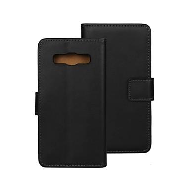 Недорогие Чехлы и кейсы для Galaxy A3-твердый цветной образец PU кожаный бумажник полный корпус Защитный чехол с подставкой для Samsung Galaxy A3
