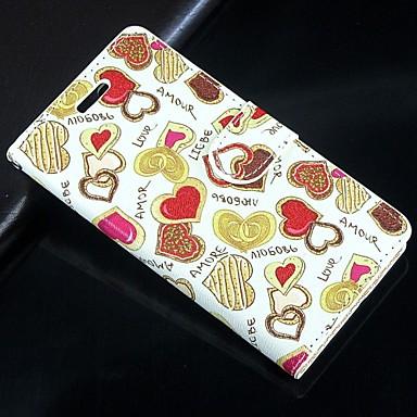 Недорогие Чехлы и кейсы для Galaxy S4 Mini-люблю шоколад искусственная кожа всего тела бумажник защитный чехол с подставкой и слот для карт Samsung Galaxy S4 мини i9190