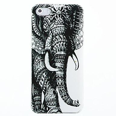 linker olifantspatroon hard case cover voor iphone 5 / 5s iphone hoesjes