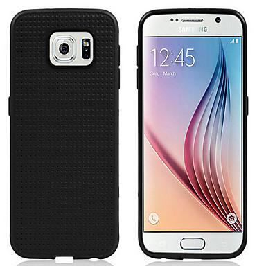 hoesje Voor Samsung Galaxy Samsung Galaxy hoesje Other Achterkant Effen Kleur Siliconen voor S6