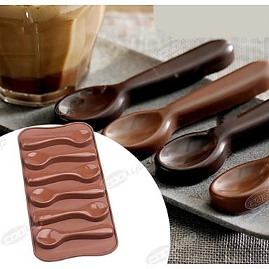 moda silicone molde de gelo de chocolate bolo de geléia de decoração de cozinha doce bakeware comida ferramentas bolo cozinhar (cor