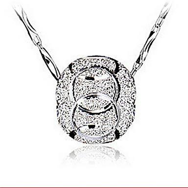 Dames Vorm Hangers Sterling zilver Zilver Hangers Bruiloft Feest Dagelijks Causaal Kostuum juwelen