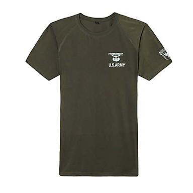 Buiten unisex T-shirt Kamperen&Wandelen / Jagen Waterdicht / Ademend / Ultra-Violetbestendig / Sneldrogend / Stofbestendig / wicking