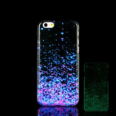 iPhone 6 Plus - Achterkantje - Grafisch/Noviteit/Glow in the dark Kunststof)