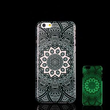 aztec μοτίβο λάμψη στη σκοτεινή σκληρή περίπτωση για iphone 6 συν iphone περιπτώσεις