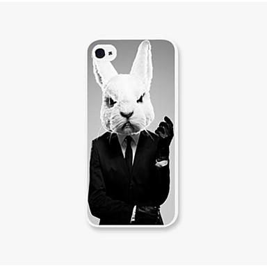 Para Capinha iPhone 5 Estampada Capinha Capa Traseira Capinha Animal Rígida PC iPhone SE/5s/5
