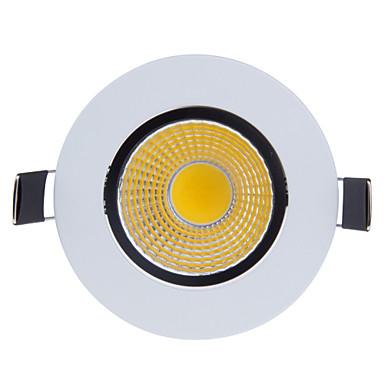 800-900lm 2G11 Lâmpada de Embutir Giratória 1 Contas LED COB Regulável Branco Quente / Branco Frio 220-240V