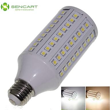 SENCART 3000-3500/6000-6500 lm E26/E27 LED-maïslampen T 108 leds SMD 5050 Decoratief Warm wit Koel wit AC 85-265V