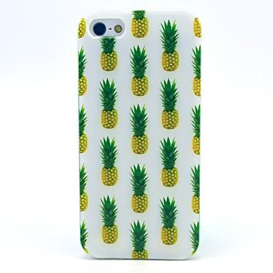 Voor iPhone 5 hoesje Hoesje cover Patroon Achterkantje hoesje Fruit Zacht TPU voor iPhone SE/5s iPhone 5