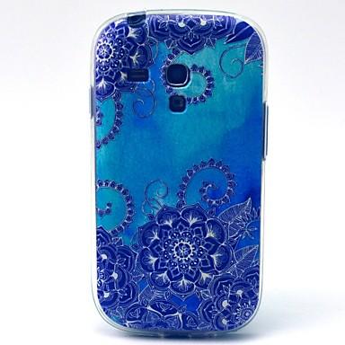 Για Samsung Galaxy Θήκη Με σχέδια tok Πίσω Κάλυμμα tok Μάνταλα TPU Samsung S3 Mini