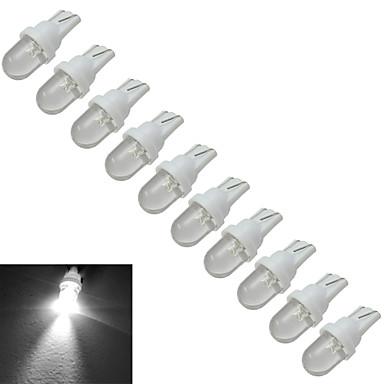 0.5W 30-50 lm T10 Luz de Decoração 1 leds Branco Frio DC 12V