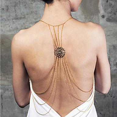 Γυναικεία Body Αλυσίδα / κοιλιά Αλυσίδα Κράμα Μοναδικό Πάρτι Καθημερινό Μοντέρνα Άλλα Κοσμήματα Σώματος Για Πάρτι Κοστούμια Κοσμήματα