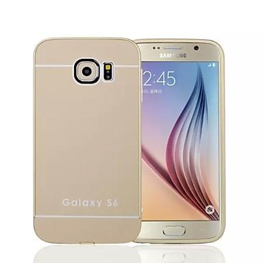 speciale ontwerp effen kleur metalen achterkant en bumper voor Samsung Galaxy s6