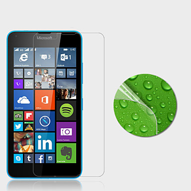 high definition screen protector voor microsoft Lumia 640