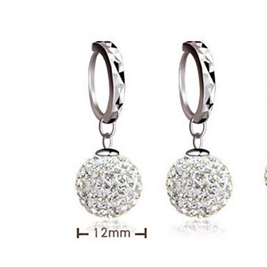 Dames Sterling zilver Zilver Druppel oorbellen - A B oorbellen Voor Bruiloft Feest Dagelijks