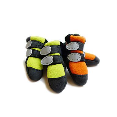 Γάτα Σκύλος Παπούτσια & Μπότες Πορτοκαλί Πράσινο Για κατοικίδια