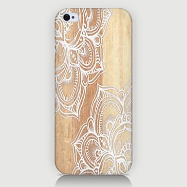Voor iPhone 5 hoesje Patroon hoesje Achterkantje hoesje Mandala Hard PC iPhone SE/5s/5