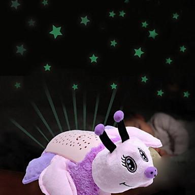 moda criativa moderna / contemporânea novidade lâmpada de projeção / luz noite travesseiro