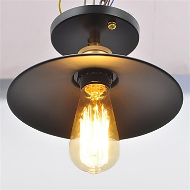 Rústico/Campestre Vintage Esfera Tigela Tradicional/Clássico Lanterna Regional Estilo Mini Montagem do Fluxo Luz Descendente Para Sala de