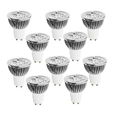 Brelong 10 adet 4 w gu10 kısılabilir led ışık fincan 220 v beyaz / sıcak beyaz / doğal ışık