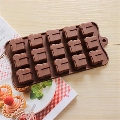 bakeware συσκευασία δώρου σιλικόνης σε σχήμα καλούπια ψησίματος για σοκολάτας