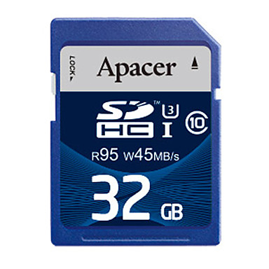 Apacer 32 γρB Κάρτα SD κάρτα μνήμης UHS-I U3 class10