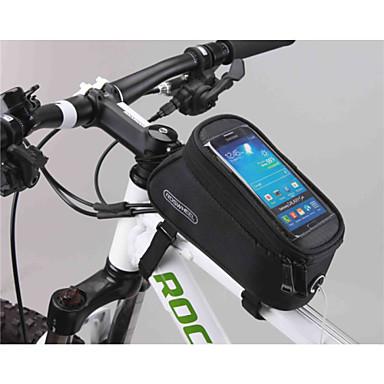 Bolsa para Quadro de Bicicleta Bolsa Celular 5.5 polegada Sensível ao Toque  Multifuncional Ciclismo para Samsung 1513e1ac8ca
