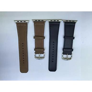 horlogeband voor Apple iWatch horlogeband met connector voor apple iwatchgenuine leren horlogebandje voor iWatch 42mm