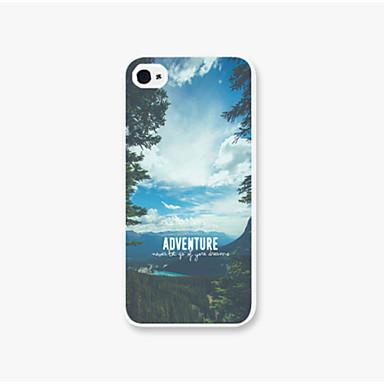hoesje Voor iPhone 5 iPhone 5 hoesje Patroon Achterkant Landschap Hard PC voor iPhone SE / 5s
