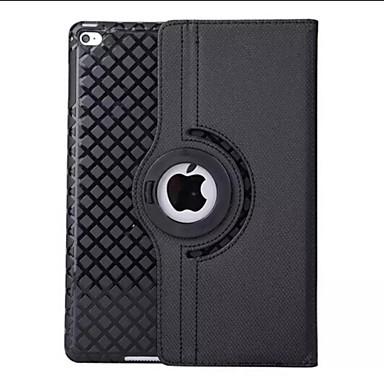 Capinha Para iPad Air Com Suporte Origami Rotação 360° Capa Proteção Completa Côr Sólida PU Leather para iPad Air