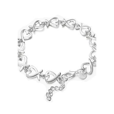 Γυναικεία Βραχιόλια Strand Επάργυρο Ασημί Κοσμήματα Γάμου Πάρτι Καθημερινά Causal Κοστούμια Κοσμήματα