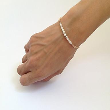 Dames Armbanden met ketting en sluiting / Strand Armbanden - Parel Armbanden Voor Dagelijks / Causaal / Sport
