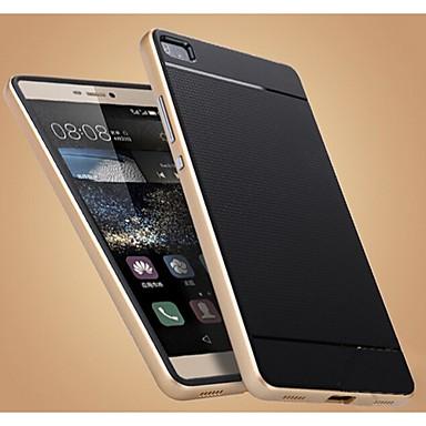 hoesje Voor Huawei P8 Huawei P8 Huawei hoesje Schokbestendig Achterkant Effen Kleur Hard TPU voor Huawei P8 Huawei