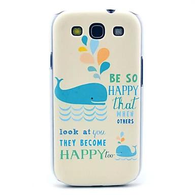 Voor Samsung Galaxy hoesje Patroon hoesje Achterkantje hoesje Cartoon PC Samsung S3