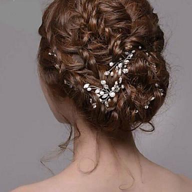Γυναικείο Ακρυλικό Headpiece-Γάμος Ειδική Περίσταση Καρφίτσα Μαλλιών 1 Τεμάχιο