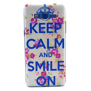 letter kroon patroon pc harde case voor Samsung Galaxy Grand prime G530 g530h
