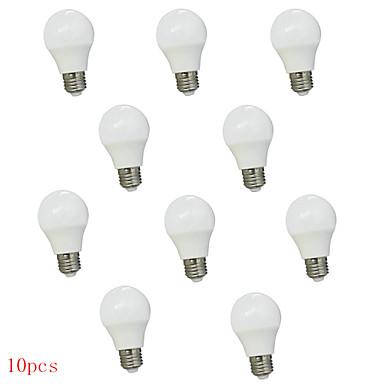 10pcs 3W 350lm E26 / E27 LED Λάμπες Σφαίρα G45 6 LED χάντρες SMD 2835 Αδιάβροχη Διακοσμητικό Θερμό Λευκό Ψυχρό Λευκό 220-240V